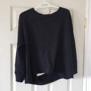 Sweaters - Black sweater with back cutouts